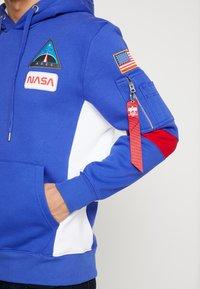 Alpha Industries - SPACE CAMP HOODY - Hoodie - nautical blue - 5