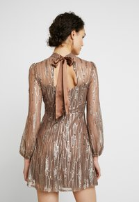 Love Triangle - SCATTERED JEWELS - Cocktail dress / Party dress - bronze - 3
