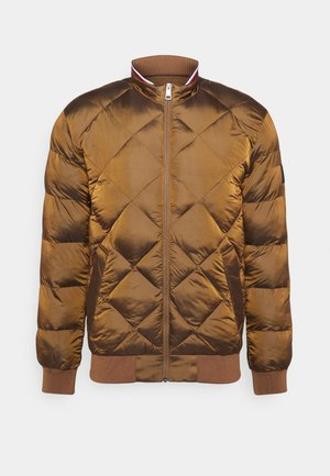 TWO TONES - Kurtka Bomber - brown