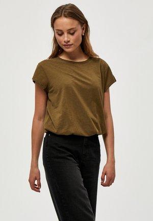 LETI - T-shirt basic - dark olive
