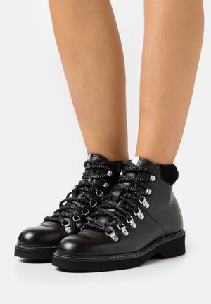 RAMELS - Lace-up ankle boots - black