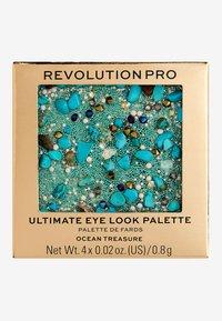 Revolution PRO - ULTIMATE EYE LOOK OCEAN TREASURE PALETTE - Eyeshadow palette - - - 3