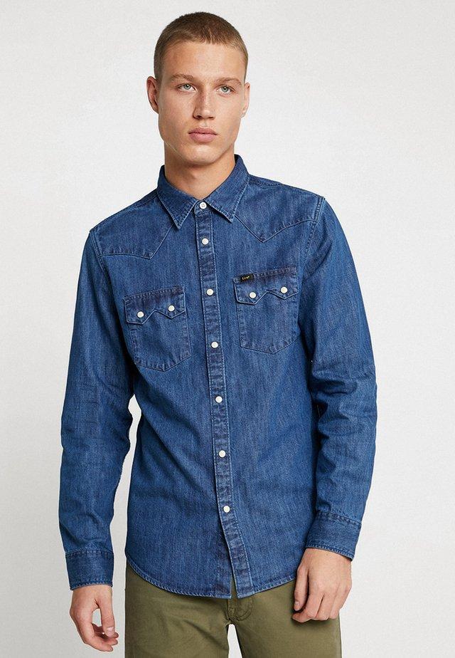 RIDER - Overhemd - dipped blue