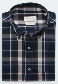 Massimo Dutti - SLIM FIT - Shirt - blue black denim - 4