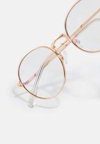 Jeepers Peepers - UNISEX - Brýle s filtrem modrého světla - gold-coloured - 3