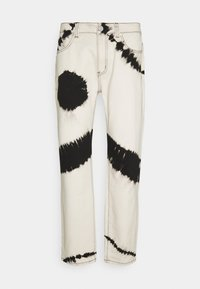 TIE DYE RELAXED - Relaxed fit jeans - white