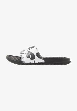 BENASSI JDI PRINT - Sandaler - black/white