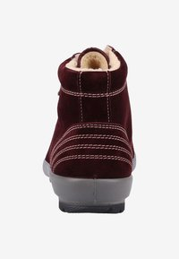Legero - Lace-up ankle boots - amarone rot - 3