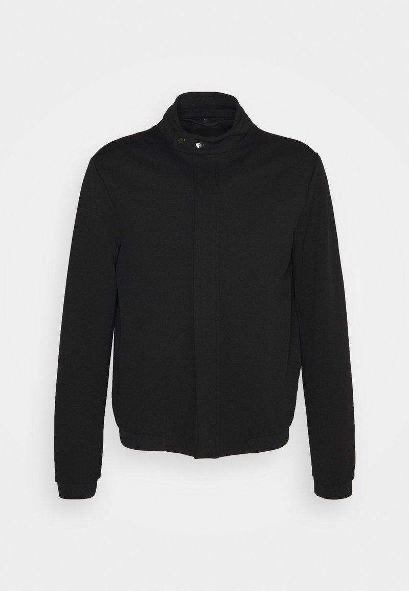 Emporio Armani - BLOUSON JACKET - Lehká bunda - black