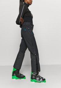 CMP - WOMAN SALOPETTE - Ski- & snowboardbukser - antracite - 3