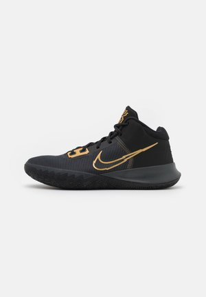 KYRIE FLYTRAP IV - Basketbalové boty - black/metallic gold/anthracite