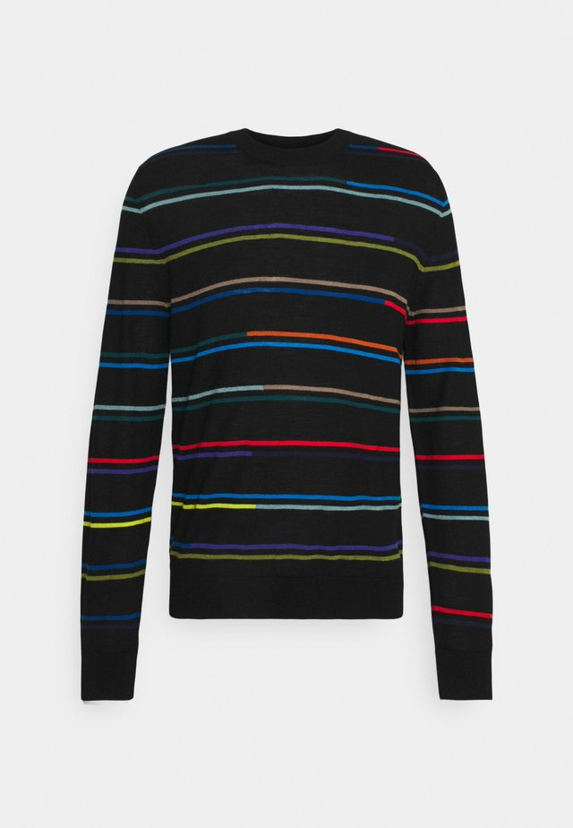 MENS CREW NECK - Maglione - black