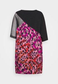 Just Cavalli - Denní šaty - fuxia variant - 8