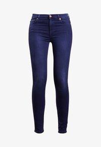 7 for all mankind - HIGHTWAIST - Jeans Skinny - indigo - 5