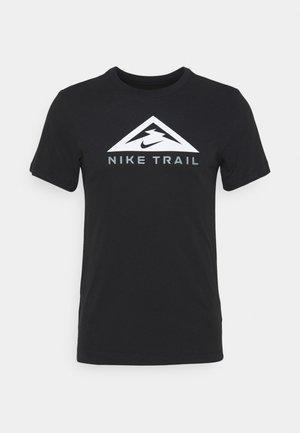 TEE TRAIL - T-shirts med print - black
