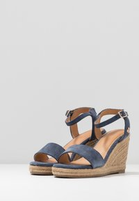 Mexx - ESTELLE - High heeled sandals - blue - 4