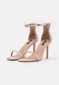 ONLY SHOES - ONLALYX LIFE STONE  - Sandály na vysokém podpatku - beige - 2