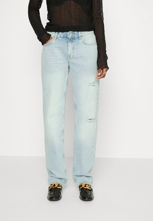 LOW WAIST - Relaxed fit jeans - blue