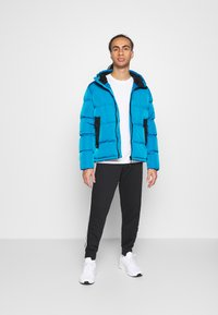 Champion - ROCHESTER OUTDOOR HOODED JACKET - Giacca invernale - dark blue - 1