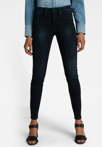 LHANA SKINNY - Jeans Skinny Fit - dark blue