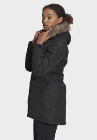adidas Performance - XPLORIC PARKA - Winter coat - black - 3