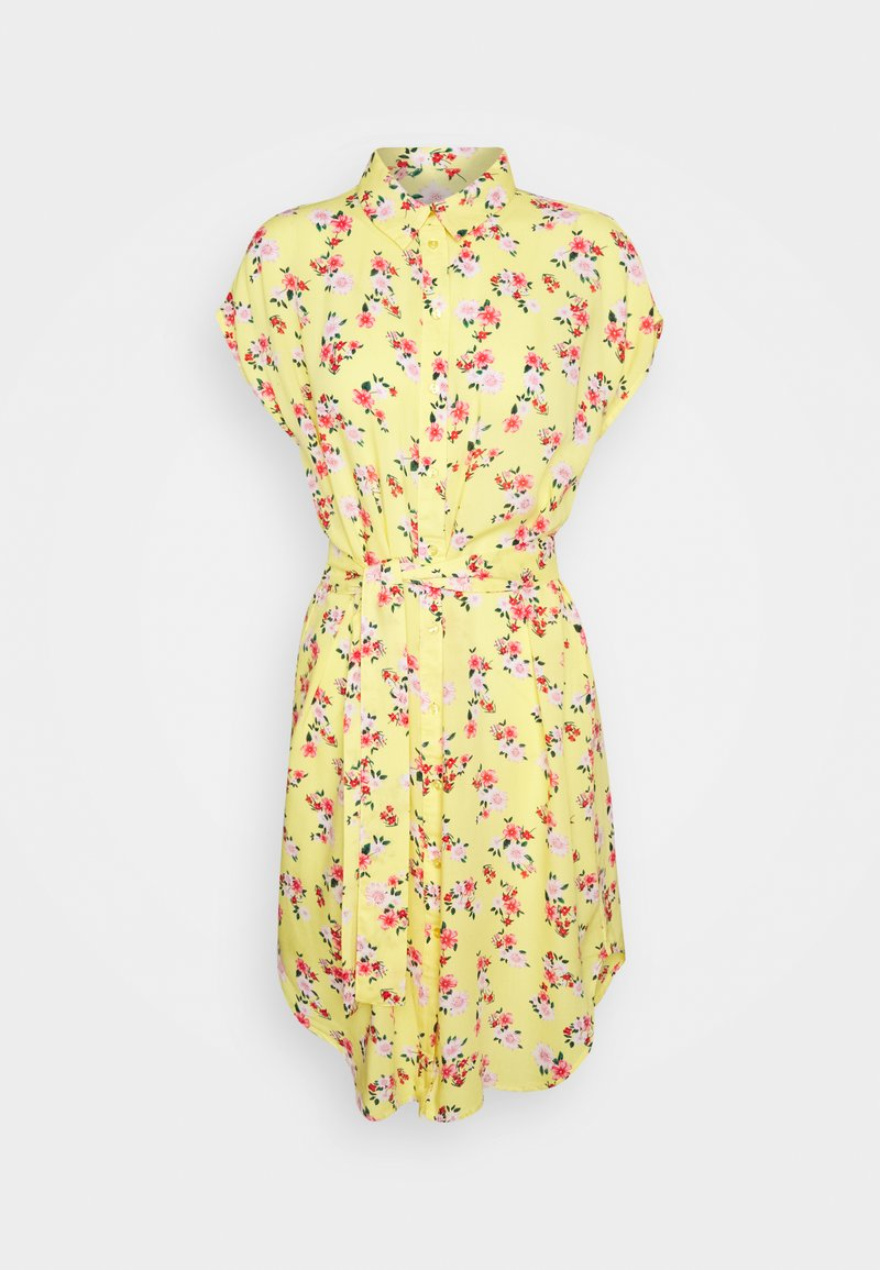 Pieces Petite - PCNYA DRESS - Vestido camisero - lemon drop