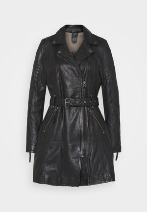 DENNA - Short coat - black