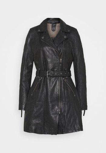 DENNA - Short coat - black