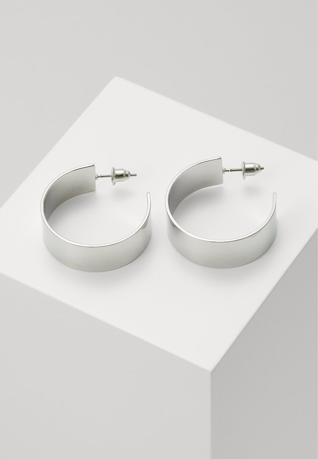 CLEAN HOOP - Boucles d'oreilles - silver-coloured