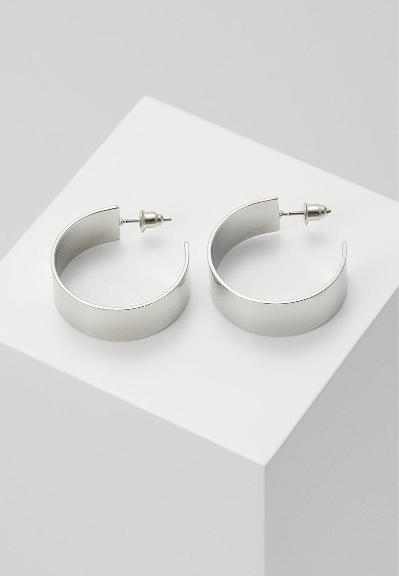LIARS & LOVERS - CLEAN HOOP - Kolczyki - silver-coloured