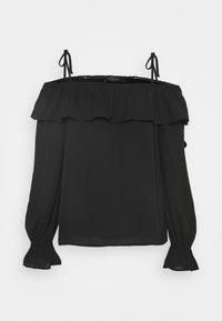 Bruuns Bazaar - CAMILLA RUE BLOUSE - Blouse - black - 0