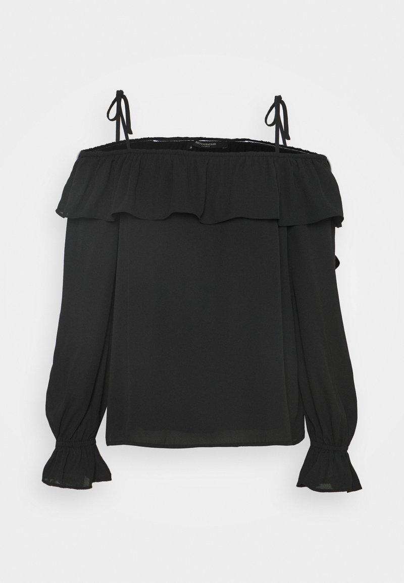Bruuns Bazaar - CAMILLA RUE BLOUSE - Blouse - black