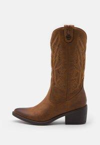 mtng - TANUBIS - Cowboy/Biker boots - brown - 1