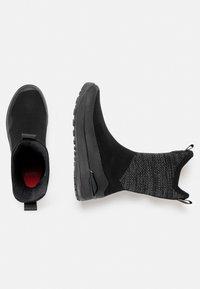 Mammut - FALERA II HIGH WP  - Winter boots - black-dark titanium - 1