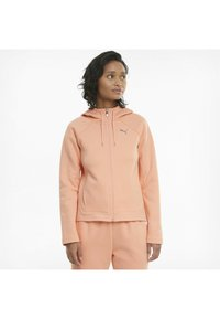 Puma - Zip-up hoodie - apricot blush - 4