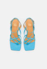 Billi Bi - T-bar sandals - clear blue - 5