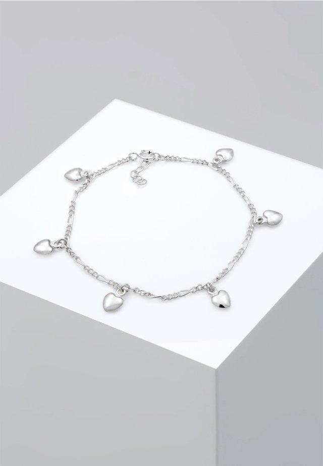 BASIC HEART - Armband - silver-coloured