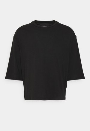 UNISEX CROPPED - Basic T-shirt - black