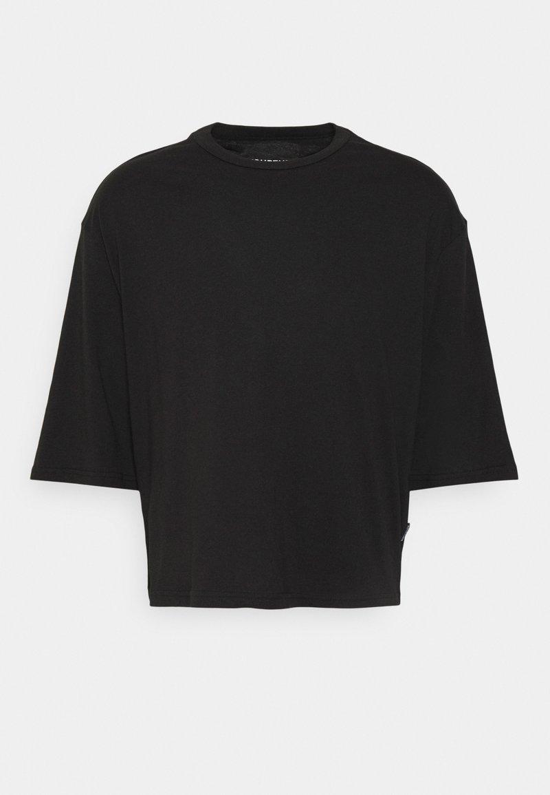 YOURTURN - UNISEX  - Jednoduché triko - black