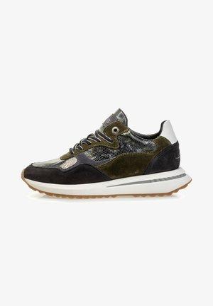 Sneakers laag - darkgreen