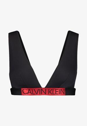 CORE ICON HIGH APEX TRIANGLE - Top de bikini - black