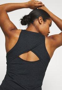 Nike Performance - DRY TANK - Funktionsshirt - black/white - 3
