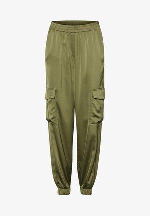 BXJUNOL PANTS W. POCKETS WOVEN - Pantaloni -  green