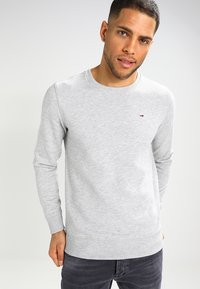 Tommy Jeans - ORIGINAL - Bluza - light grey heather - 0