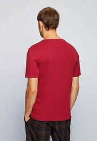 BOSS - Pyjama top - dark red - 2