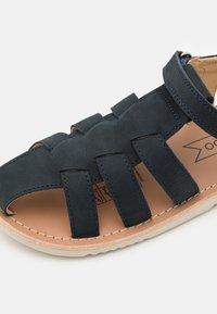 Friboo - LEATHER - Sandals - dark blue - 5