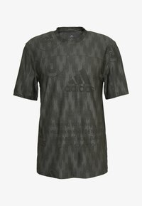 adidas Performance - CITY TEE - T-shirts med print - green - 4