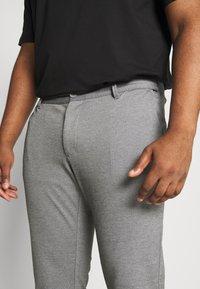 Only & Sons - ONSMARK CUFF - Trousers - medium grey melange - 4