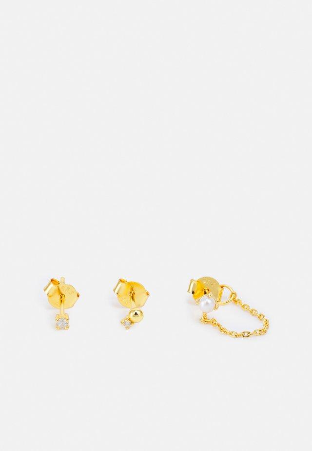 CHARLIE - Oorbellen - gold-coloured