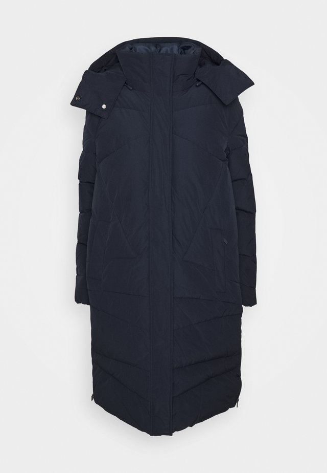 COAT PADDED FANCY STITCHING - Cappotto invernale - sky captain blue